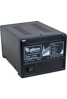Yıldırım Voltaj Çevirici 600 Watt