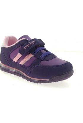 Pinokyo 011-1 Çocuk Spor Ayakkabı Mor