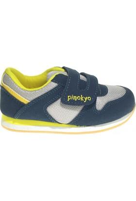 Pinokyo 2104 Çocuk Spor Ayakkabı Petrol