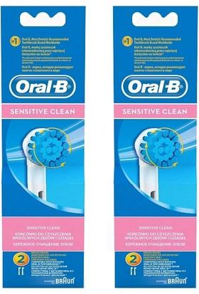 Oral-B EB17 Sensitive Clean Diş Fırçası Yedeği 2'li X 2 Adet