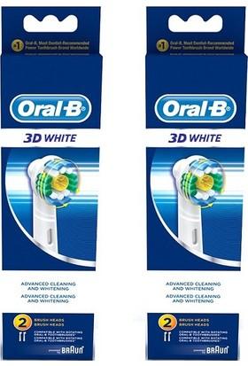 Oral-B EB18 3D White Diş Fırçası Yedeği 2'li x 2 Adet