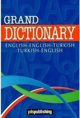 Grand Dictionary - Ş.Nejdet Özgüven