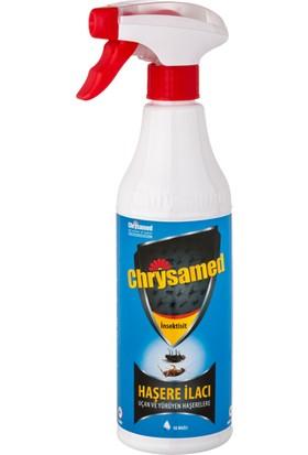 Chrysamed İnsektisit 500 Ml Hamam Böceği, Karınca, Kene Vs