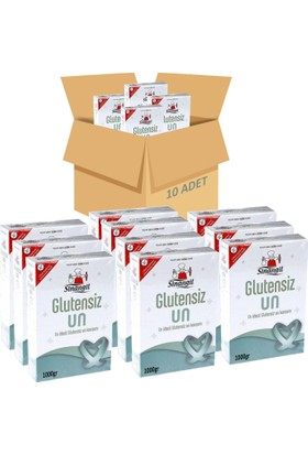 Sinangil Glutensiz Un 10x1000gr 10'lu Koli