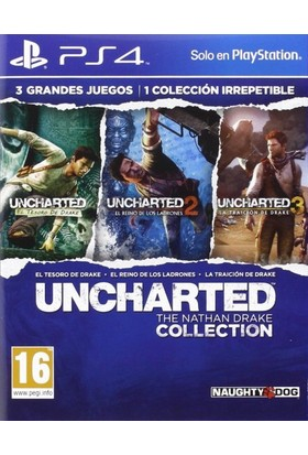 Uncharted : The Nathan Drake Collection Ps4 (Türkçe Altyazı)