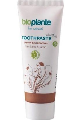 BioPlante Organik Florürsüz Diş Macunu - Tarçın 75 ml.