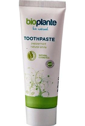 BioPlante Organik Florürsüz Diş Macunu - Nane 75 ml.