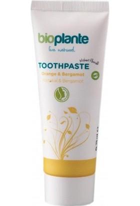 BioPlante Organik Florürsüz Diş Macunu - Bergamot 75 ml.