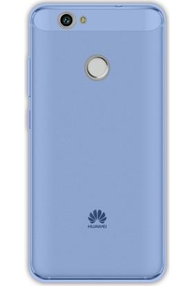 Case 4U Huawei Nova Kılıf Silikon Mavi