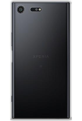 Case 4U Sony Xperia XZ Premium Silikon Kılıf Füme