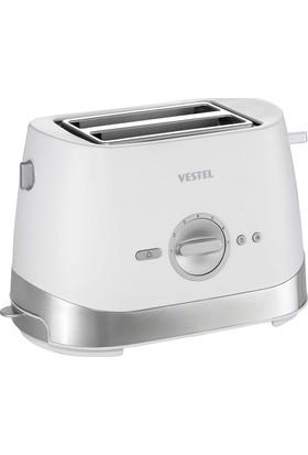 Vestel Keyif E2001 Beyaz Ekmek Kızartma Makinesi