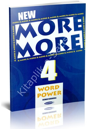 Kurmay More & More 4.sınıf Word Power