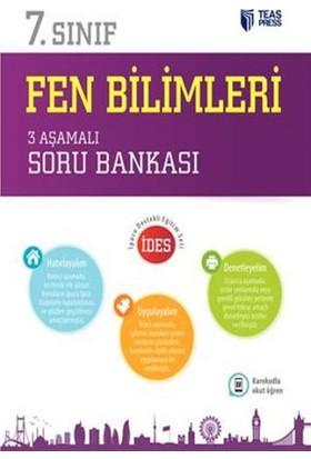 Teas Press Yayınları 7. Sınıf Fen Bilimleri 3 Aşamalı Soru Bankası