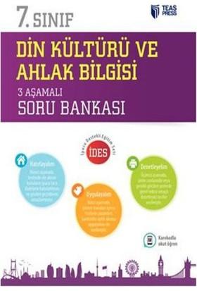 Teas Press Yayınları 7. Sınıf Din Kültürü ve Ahlak Bilgisi 3 Aşamalı Soru Bankası