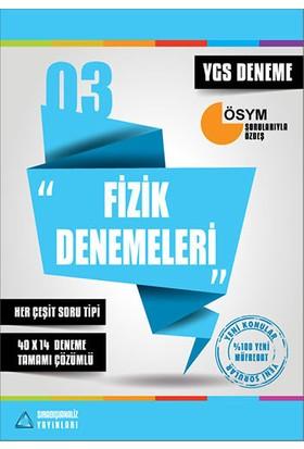 YGS Fizik Denemeleri Tamamı Çözümlü SıradışıAnaliz Yayınları