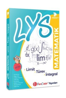 FenCebir Yayınları LYS Matematik Miğfer Serisi Limit Türev İntegral Soru Bankası