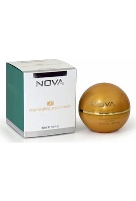 Nova Kozmetik Yenileyici Argan Yağlı Kremi