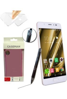 Case Man Casper Via P1 Silikon Kılıf Ultra İnce Koruma + Dokunmatik Stylus Kalem