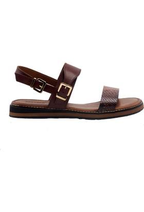 Greyder 51302 Kadın Sandalet Taba