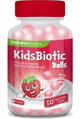 Naturopathıca Kidsbiotic Balls 30 Tablet