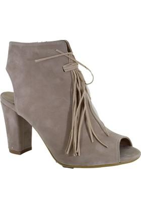 Punto 547574-06 Günlük Kadın Topuklu Ayakkabı
