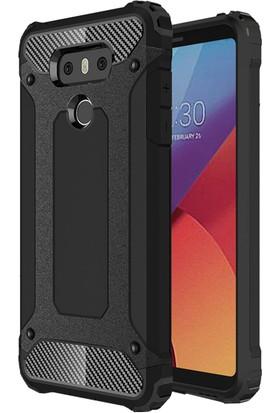 Microsonic LG G6 Kılıf Rugged Ar