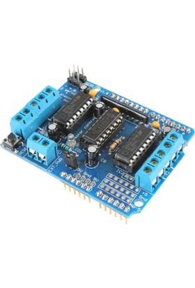 Arduino Step Motor Sürücü L293D Servo DC Motor Driver Shield