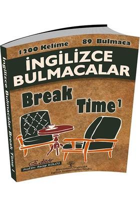 Biyosistem İngilizce Bulmacalar Break Time 1 - Recep Külcü