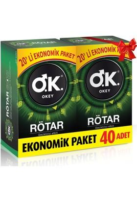 Okey Rötar 40'lı Fırsat Prezervatif Paketi