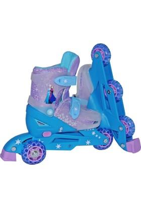 Frozen 3 Tekerlekli Ayarlanabilir Paten(31-34)