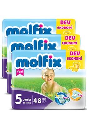 Molfix Bebek Bezi Comfort Fix Junior Dev Ekonomi 5 Beden 144 adet