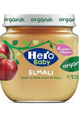 Hero Baby Organik Karışık Elmalı Kavanoz Maması 120 gr