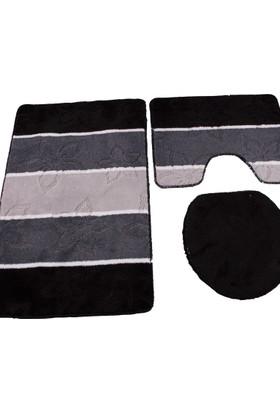 Gökyıldız 3lü Klozet Takımı - Cansu Siyah