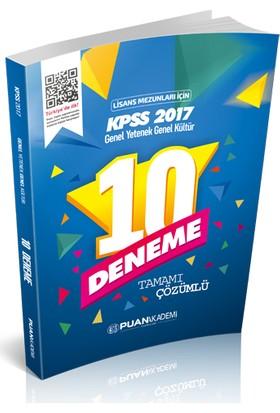 Puan Akademi 2017 KPSS Genel Yetenek Genel Kültür Lisans 10 Çözümlü Deneme