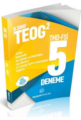 Puan 8. Sınıf TEOG-2 5 Deneme