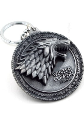 Solfera Game Of Thrones Stark Winter İs Coming Anahtarlık Kc627