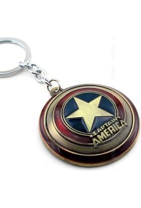 Solfera Marvel Captain America Kalkan Shıeld Anahtarlık Kc628