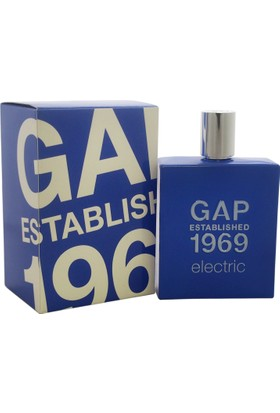 Gap Electric Edt 100Ml Erkek Parfüm
