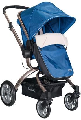 Pierre Cardin PC405 Twist Travel Bebek Arabası Mavi
