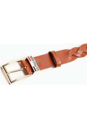 U.S. Polo Assn. Kadın Y7Ad057 Kemer Kahverengi