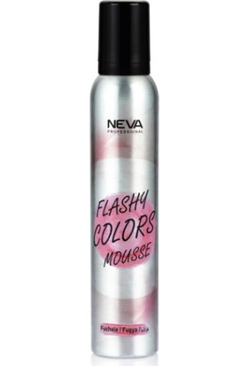 Neva Flashy Colors Renkli Köpük 200 ml Fuşya