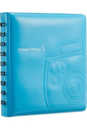 Fujifilm İnstax Mini 64'lük Albüm Mavi