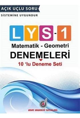 Aday Akademi Lys 1 - 10'lu Deneme Seti (Matematik-Geometri)