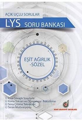 Aday Akademi Açık Uçlu LYS Soru Bankası (Eşit Ağırlık-Sözel)