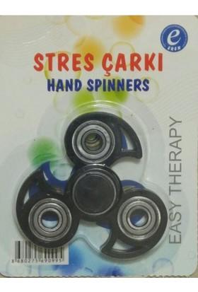 Kırtasiyebank Süper Hızlı Stres Çarkı Hand Spinners Ninja Siyah