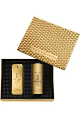 Paco Rabanne 1 Million Edt 100 Ml + Deodorant 150 Ml Erkek Parfüm Seti