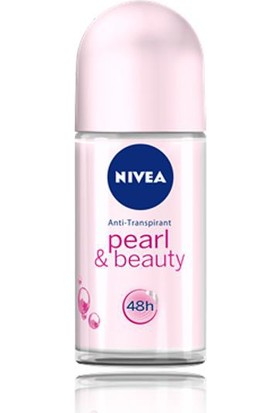 Nivea Pearl & Beauty Roll-On 50Ml Kadın