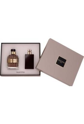 Valentino Uomo Edt 100 Ml + Tıraş Sonrası Balsam 100 Ml Erkek Parfüm Seti