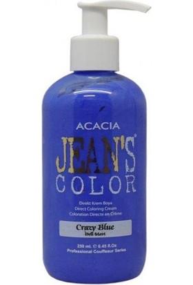 Jeans Color Renkli Saç Boyası Deli Mavi 250 Ml
