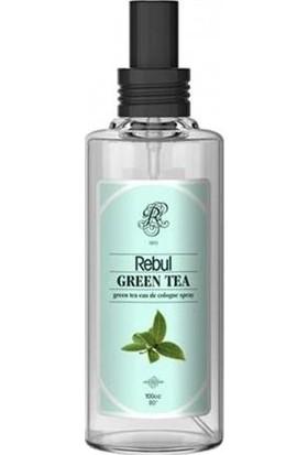 Rebul Green Tea - Yeşil Çay Kolonyası 100 Cc (Cam Şişe) Spreyli